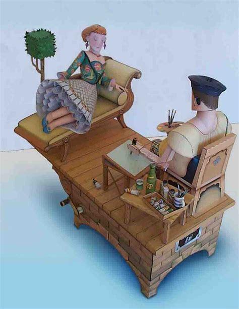 Steunk Papercraft - automata