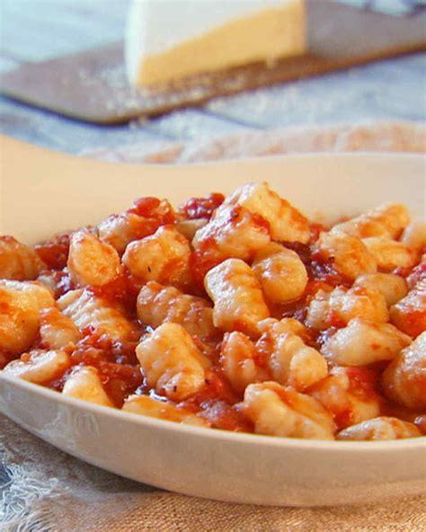 homemade gnocchi recipe video martha stewart