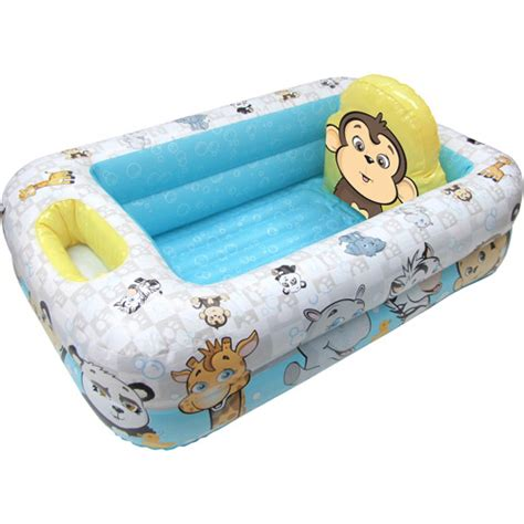 inflatable bathtub for baby garanimals inflatable baby bathtub walmart com