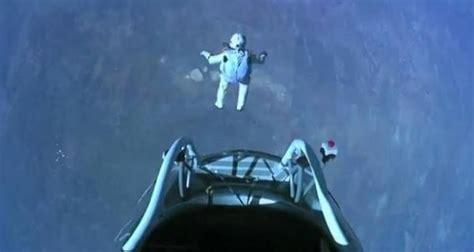möbel baumgartner bull stratos il lancio col paracadute pi 249 alto di