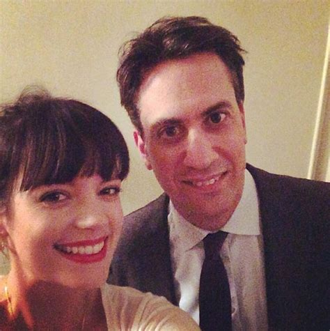 Allen Unlikely Choice Of Chanel by Allen And Joey Essex Tweet Selfies With Labour Leader