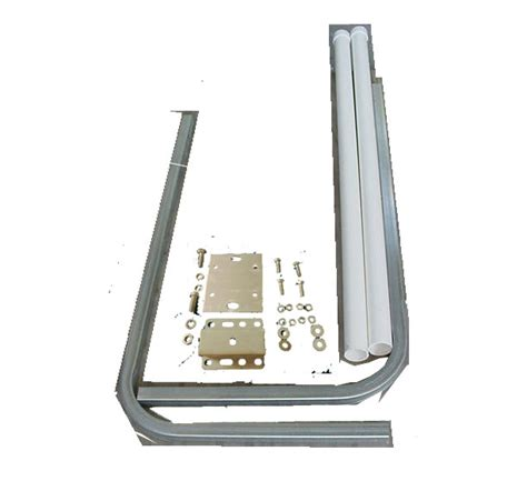 do boat trailer guides work guide pole galv w cl on brackets pv2160 2 boat