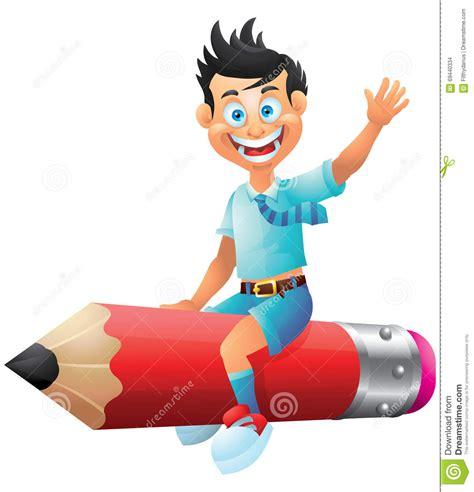 imagenes de niños escolares animadas crayon d 233 quitation de personnage de dessin anim 233 d