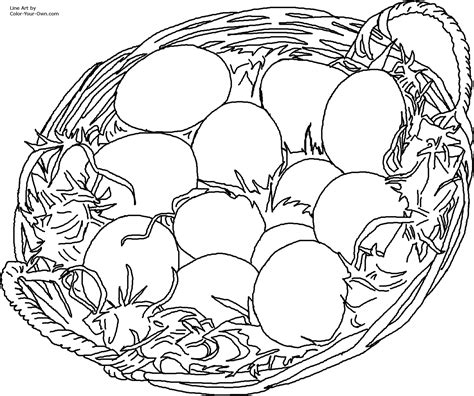 eggs in nest coloring page free coloring pages of nest egg