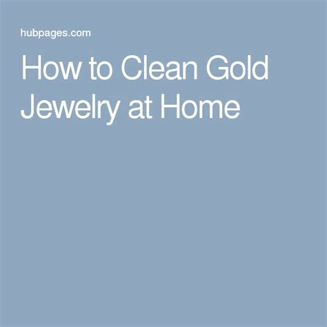 1000 ideas about clean gold jewelry on