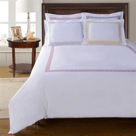 Bed Cover Set Impression Terragon Uk180160 impressions clayton 100 cotton duvet cover set bedding and bedding sets at hayneedle