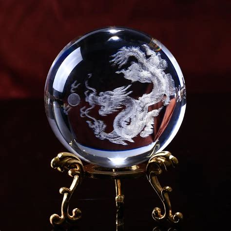 dragon  fortune crystal sphere project