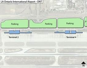ont la ontario airport terminal maps