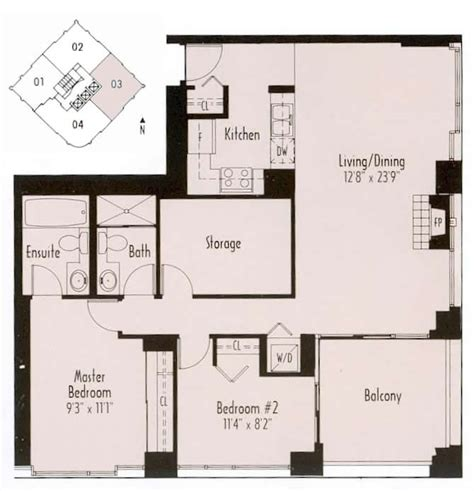 Appartment Floor Plans paris place vancouver bc canada