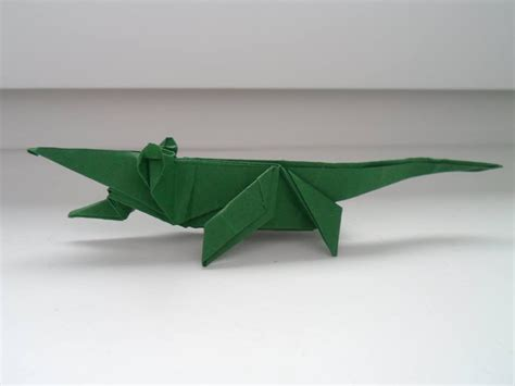 Origami Alligator - origami crocodile ladislav ka蛻ka