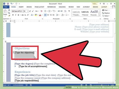 Writing A Resume On Microsoft Word 2007 by How To Create A Resume In Microsoft Word With 3 Sle