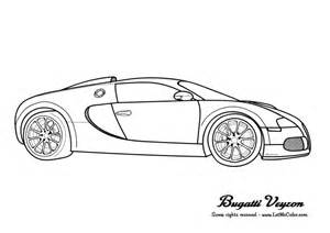 The Bugatti Page Coloring Cars Letmecolor