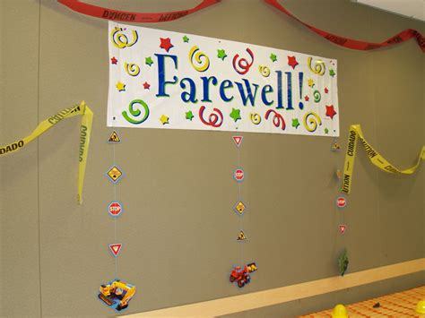 Farewell Decoration Images by Engineering Decorations Geeky Engineer