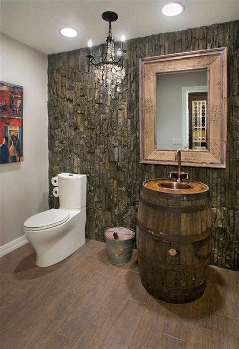 Frank Lloyd Wright Home Decor by Foto Di 25 Bagni Rustici Per Idee Di Arredo Con Questo