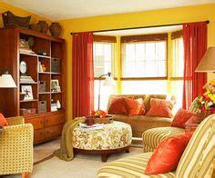 Spice Colored Curtains Decor Yellow Orange Decor On Pinterest Color Schemes Apartment Liv