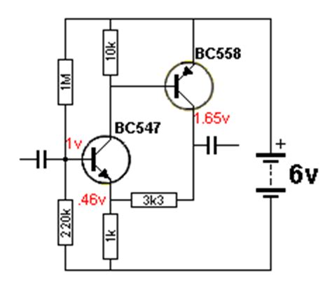 transistor lifier output voltage working of npn transistor lifier