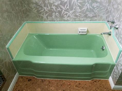 green bathtub reversing a bland big box remuddle dana builds a vintage