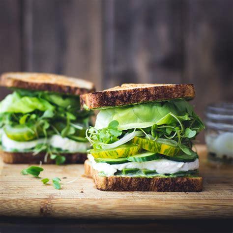 gourmet vegetarian sandwich recipes green goddess sandwiches the bojon gourmet