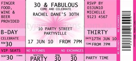 printable concert ticket template free concert ticket invitations template free birthday ideas il