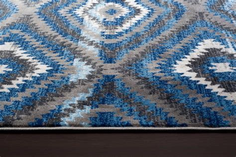 blue rug 5x7 2368 blue gray 2x3 5x7 8x10 area rug carpet ebay