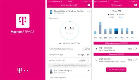 telekom apps telekom telekom magentaservice app ersetzt kundencenter app