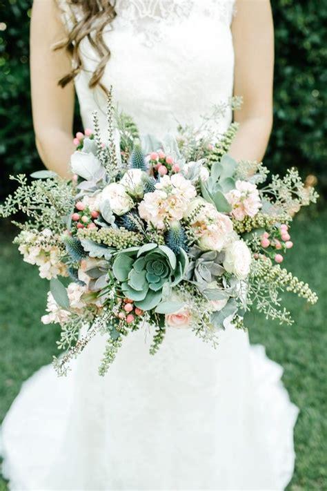 creative  unique succulent wedding bouquets ideas