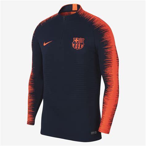 Nike F C Barcelona nike fc barcelona vaporknit strike drill top soccer