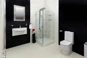 bathroom black red white: design highlight to be marked about this smart modern bathroom black
