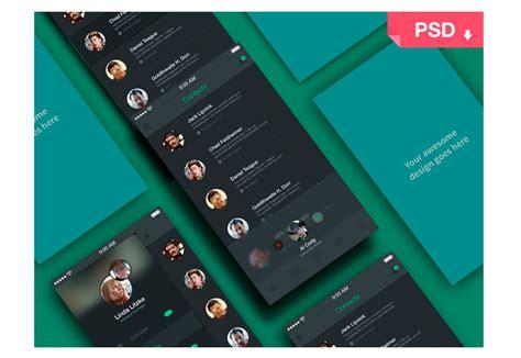 material design app mockup 50 incredible freebies for web designers february 2015