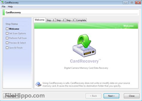 full version sd card recovery software free download download cardrecovery 6 10 build 1210 filehippo com