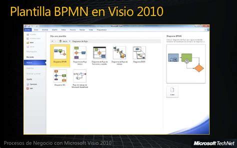 bpmn visio 2010 procesos de negocio bpmn