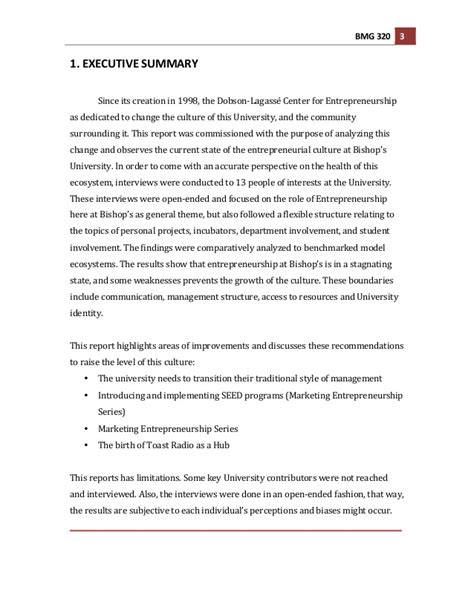 entrepreneurship research paper bishops entrepreneurship culture research paper