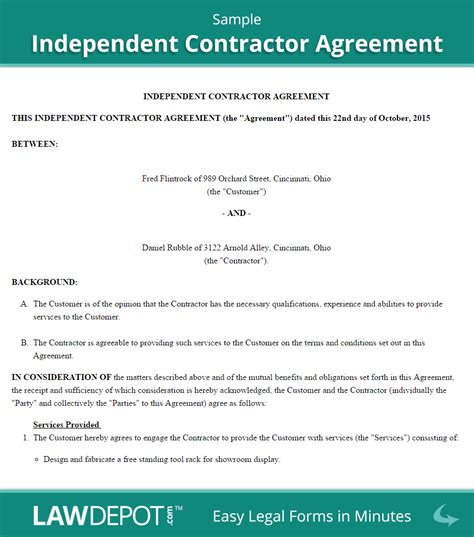 independent contractor application edit fill out top online