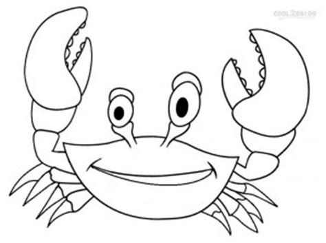 easy crab coloring page printable crab coloring pages for kids cool2bkids