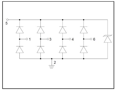 tvs diode circuit zener transient voltage suppressor tvs diode array electrical engineering stack exchange
