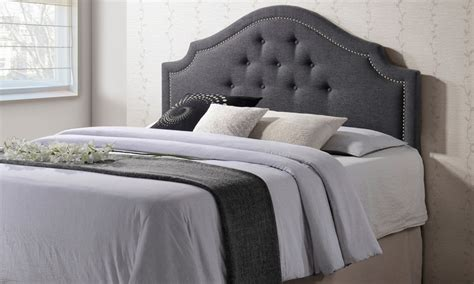 contemporary upholstered headboards cora contemporary upholstered headboard livingsocial
