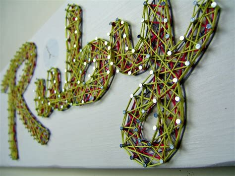 Name String - here s one that i did for makeably as a thank you for