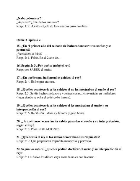 preguntas biblicas para jovenes falso o verdadero m 225 s de 90 preguntas y respuestas sobre el libro de daniel