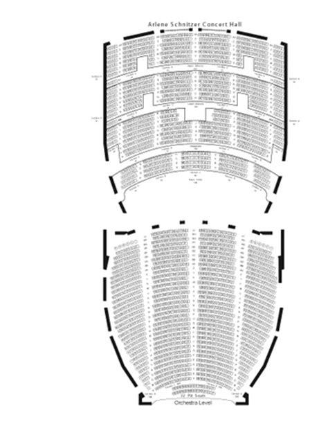 schnitzer concert seating chart schedule of shows arlene schnitzer concert