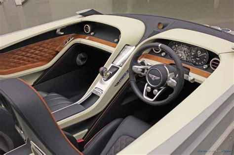 bentley exp10 speed 6 interior bentley interior design director on the exp10 speed6 concept