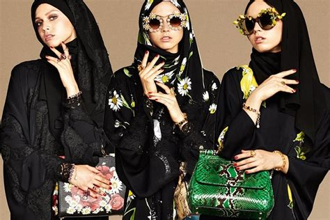 Daster Arab Dolce Prada Dolce And Gabbana Launch And Abaya Collection