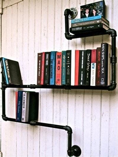relaxshacks simple pipe shelves shelving for your