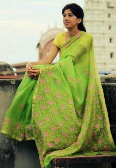 Indiana List Blouse A 1184 jute silk saree with blouse the colour combo indian