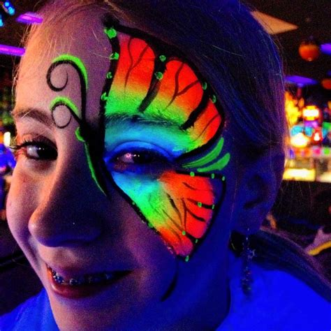 glow in the paint makeup best 10 glow paint ideas on neon