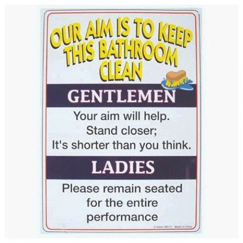 funny bathroom signs to print 8 best images of printable restroom etiquette signs