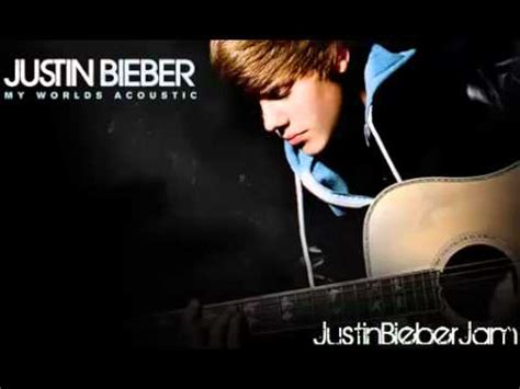 justin bieber my world songs youtube acoustic justin bieber quot baby quot my world acoustic new
