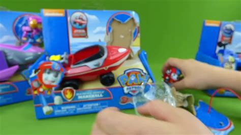 paw patrol fire boat sea patroller paw patrol pups save a shark chase marshall