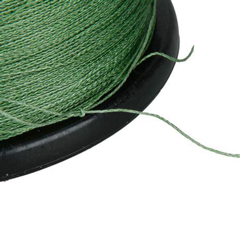 Strong Fishing Line Diameter 45 Mm 1000m high quality 50lb green strong pe fiber braid