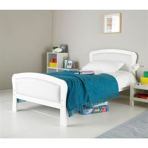 single white wooden headboard hyder paddington 3ft single white bed frame wooden beds
