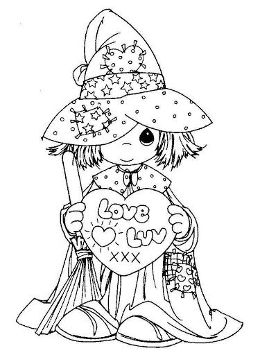 Coloring Pages January 2010 Precious Moments Wedding Coloring Pages